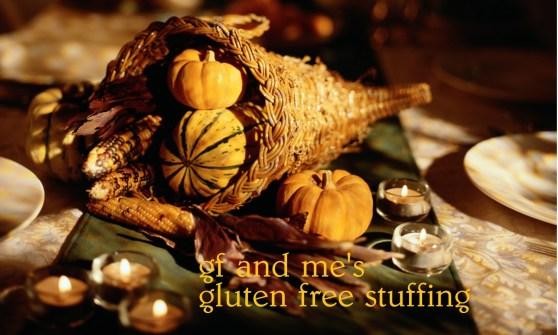 gluten free stuffing from gfandme.com