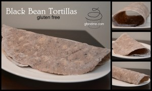 Black Bean Tortillas. gfandme.com