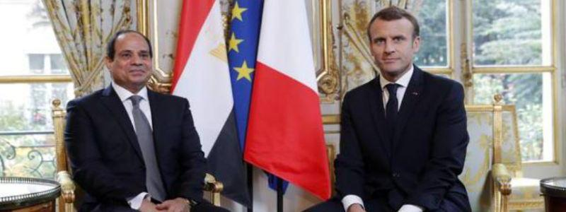 France is working with Egypt against the terrorism in Libya