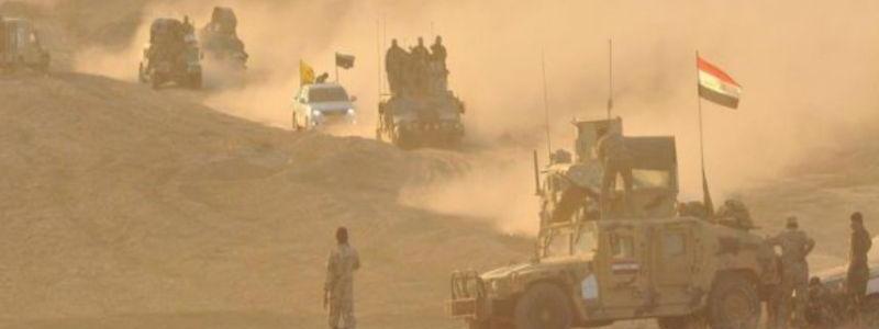 Iraqi troops destroyed underground tunnel of Islamic State terrorist group in Diyala