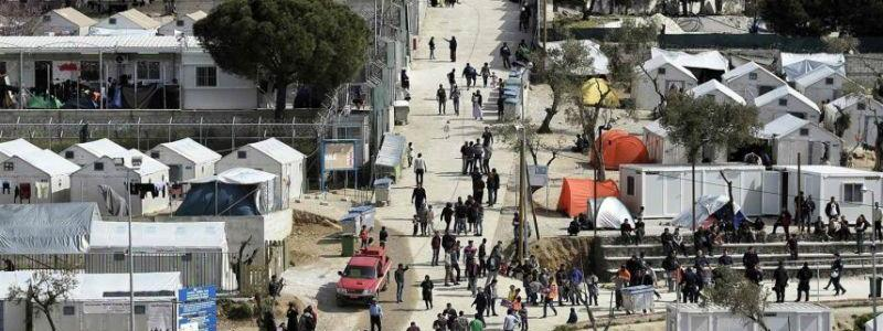 Sharia law and Islamic terrorists rule in Greece's notorious migrant camp of Moria