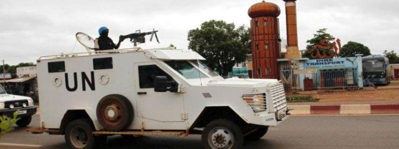 Two UN peacekeepers killed by a mine in central Mali