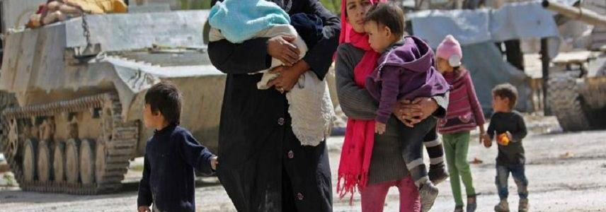 At least 16 children among those kidnapped by ISIS terrorists in southern Syria