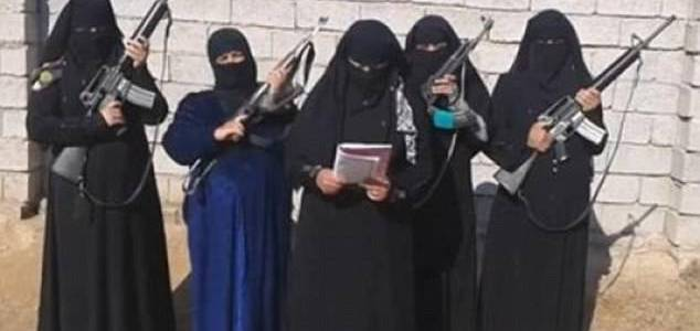 Female ISIS suicide bomber detained for planing Easter attack