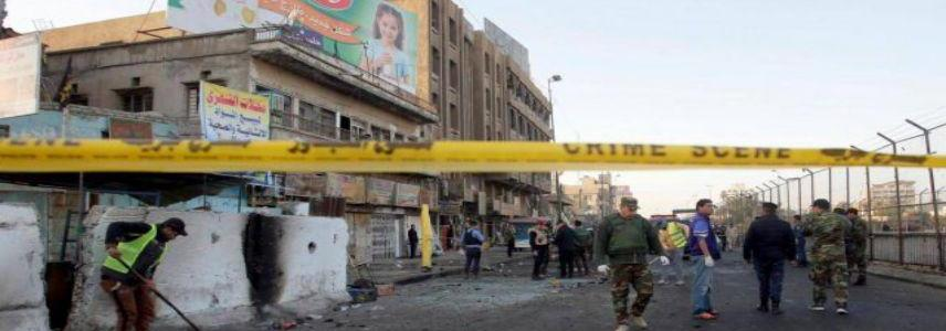Four people injured in bomb blast southwest of Baghdad