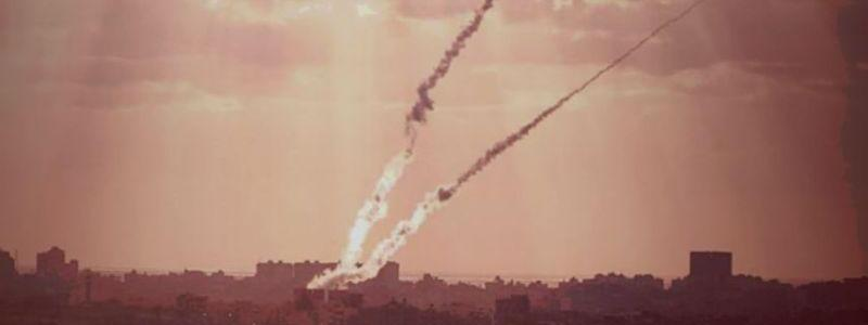 Hamas terrorist group launched rocket into Israel territory