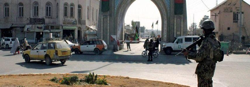 Huge blast kills two people and injures more than 25 in the city of Kandahar in Afghanistan