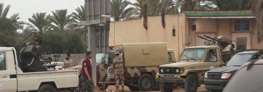 ISIS armed attack on security post in west Libya kills four people and injures others