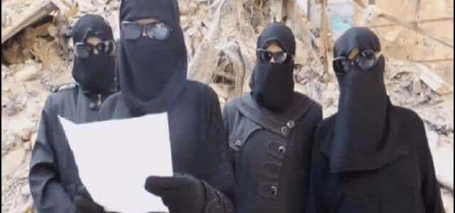 ISIS female member paid to lash 'immodest women' in Mosul