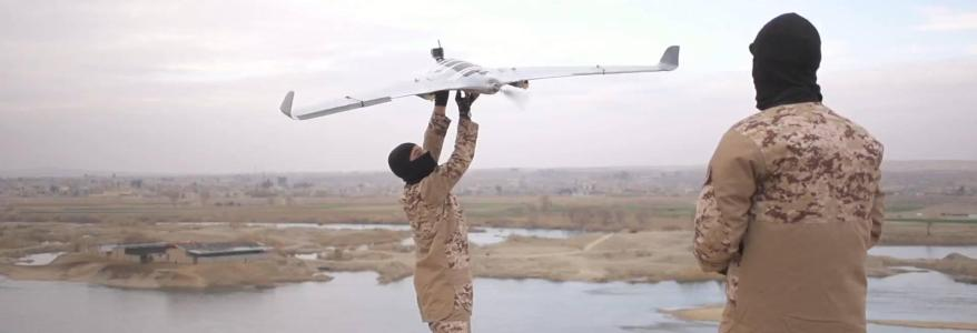 ISIS has an army of drones that drop explosives