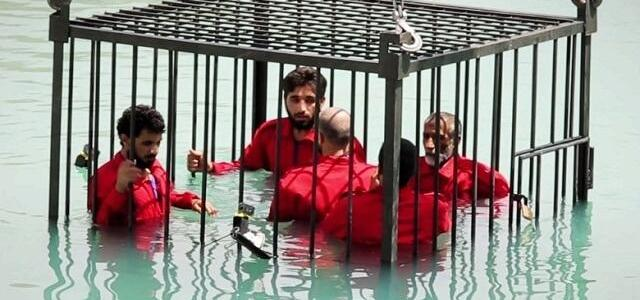 ISIS jihadists execute man by drowning him in detergent liquid for supporting Iraqi forces