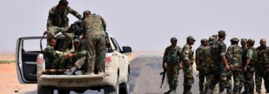 ISIS terrorists attacked the Syrian forces and its militias in Deir Ezzor