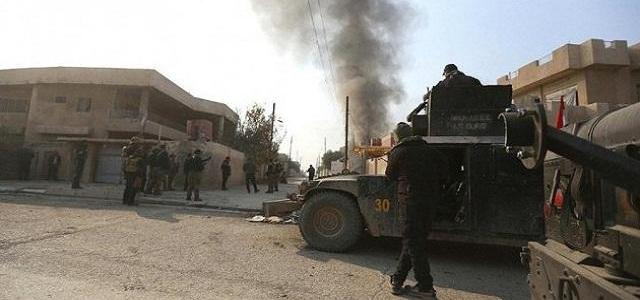 ISIS terrorists claim responsibility for suicide bombing attack south of Bagdad, killing 9 people