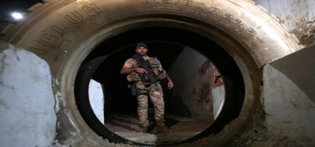 ISIS underground training camp founded outside of Mosul