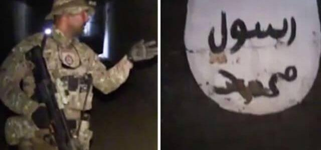 Islamic State 'gallery' reveals murals about ISIS's dream of conquering Italy