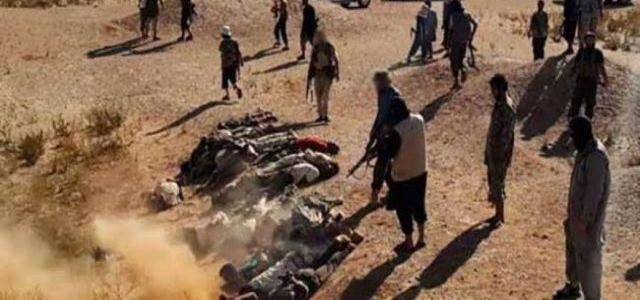 Islamic State executes 20 civilians west of Mosul