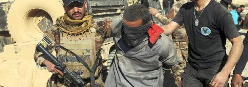 Islamic State terrorist in charge of security patrols arrested west of Mosul