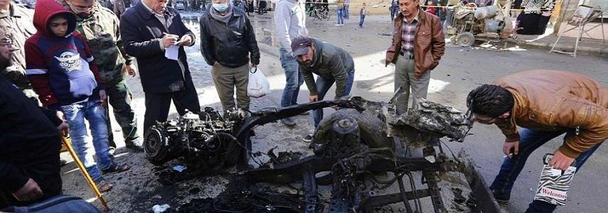 Islamic State terrorists claimed the suicide attack that killed 14 people in Syria