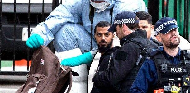 Man carrying knives arrested near UK Parliament on suspicion for plotting act of terrorism