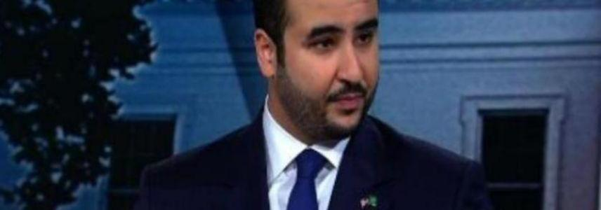 Prince Khalid bin Salman shows evidence on Hezbollah support to the Houthis in Yemen