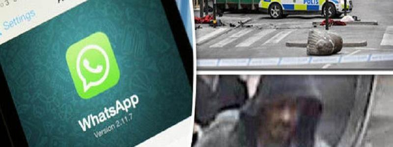 Stockholm terror attacker received direct orders from ISIS leaders through Whatsapp