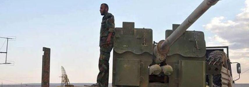 Syrian Army repels terrorists heavy offensive at the border with Turkey