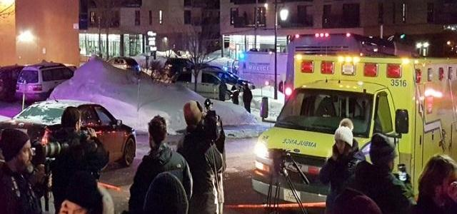 The Canadian mosque shooting that left six people dead is a terrorist attack?