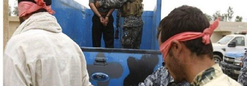 Three Islamic State terrorists arrested west of Mosul