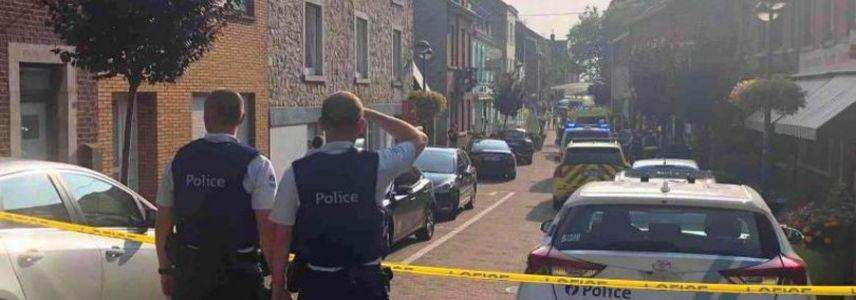 Three dead after knifeman screaming Allahu Akbar launched brutal attack in restaurant in Belgium