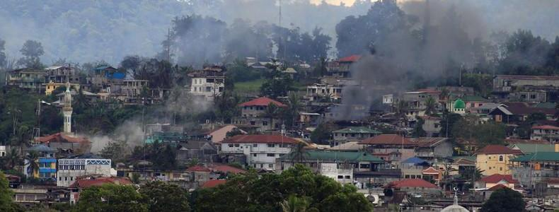 At least 100 bodies on streets of ISIS-occupied Marawi city in the Philippines