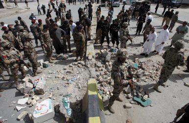 Balochistan bombing claimed by the Islamic State terrorist group