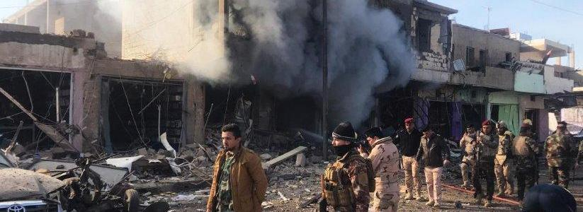 Dozens of civilians dead and 15 houses are destroyed after ISIS amunitions explode in Deir Ezzur