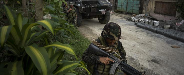 Foreign Fighters Part of ISIS 'Invasion': Philippines