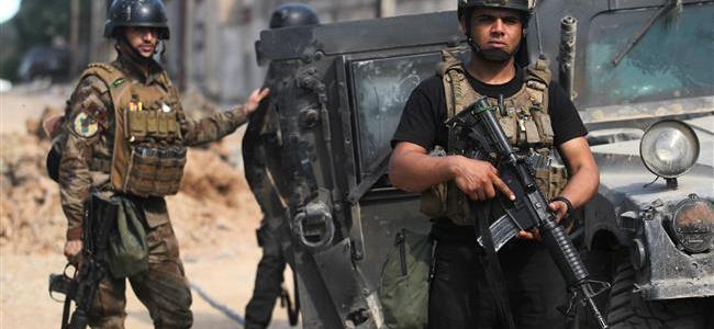 Iraqi police forces seize ISIS's main chemical plant in Mosul