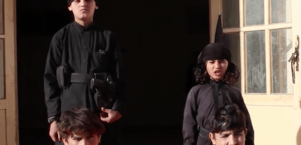 ISIS deploys young 'cubs of the caliphate' to execute prisoners