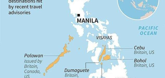 ISIS terrorist are planning to kidnap tourists at Philippine tourist hotspots