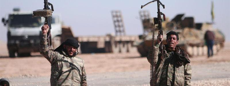 ISIS terrorists attack and advance in the countryside of Al-Salamiyah and clashes in the desert of Homs