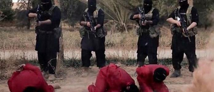 ISIS terrorists execute three of its own members for escaping in Raqqa