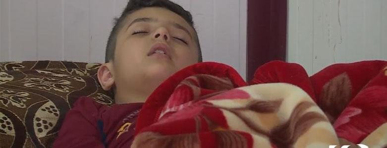 Kurdish Ezidi child brainwashed by ISIS terrorists is highly de-socialized