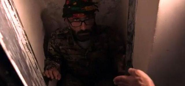 Inside ISIS torture cells: Footage reveals tiny chambers where crowds of terrified locals 'awaited execution'