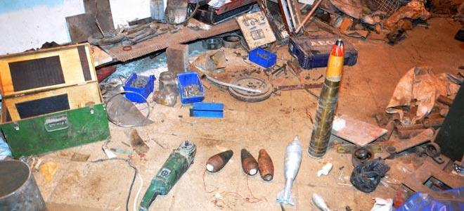 Syrian forces uncover ISIS workshop for manufacturing IEDs, shells in Homs