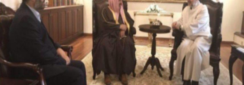 Turkish religious affairs director meets with Al-Qaeda financier