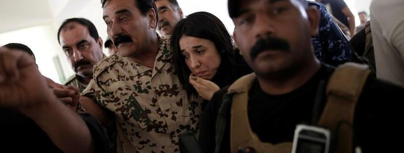 Yazidi Activist and ISIS Sex Slave Survivor Returns to Her Home Village for the First Time