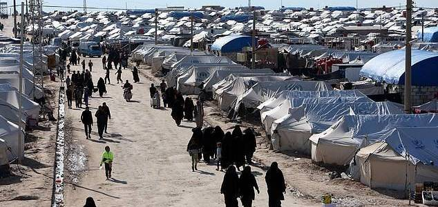ISIS brides are trying to recreate the caliphate within refugee camps by creating brutal morality police