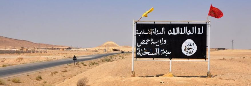 ISIS terrorists fled to Syrian desert killed at least 35 members of regime forces