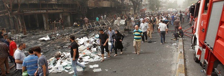 ISIS truck bomb in Baghdad kills more than 70 and injures 200