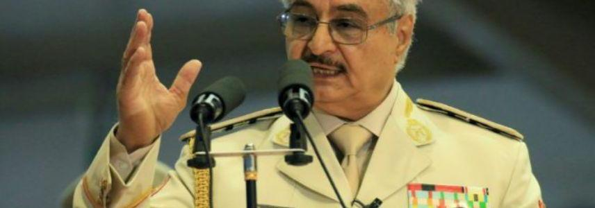 Islamic State terrorists attacked a stronghold under control of Khalifa Haftar