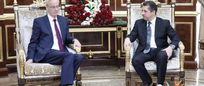 Masrour Barzani: Islamic State is about ideology not territory