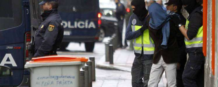 Spanish anti-terrorism police foiled plans for Seville attack