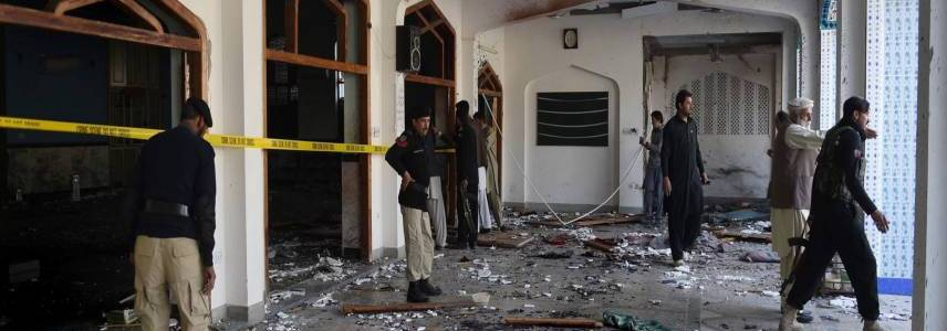 Bomb attack targets mosque in Pakistan's Quetta killing at least two people and wounding 25 others